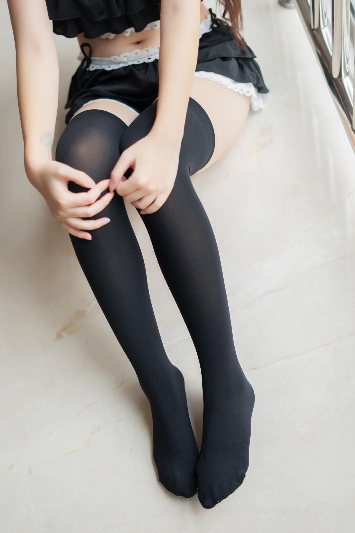 【兔玩映画】黑色分体泳衣 兔玩映画 第16张