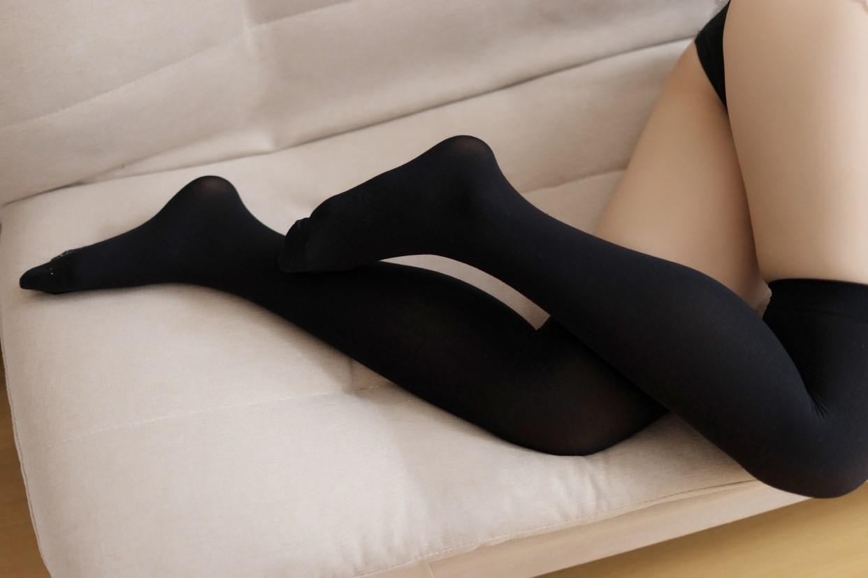 【兔玩映画】黑色分体泳衣 兔玩映画 第34张
