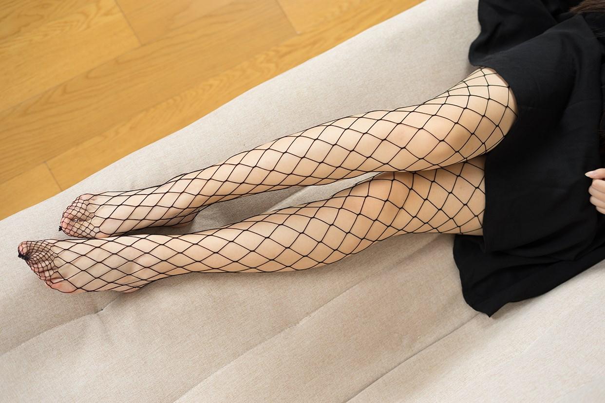【兔玩映画】黑色网袜 兔玩映画 第9张