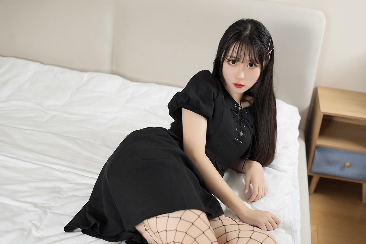 【兔玩映画】黑色网袜 兔玩映画 第11张