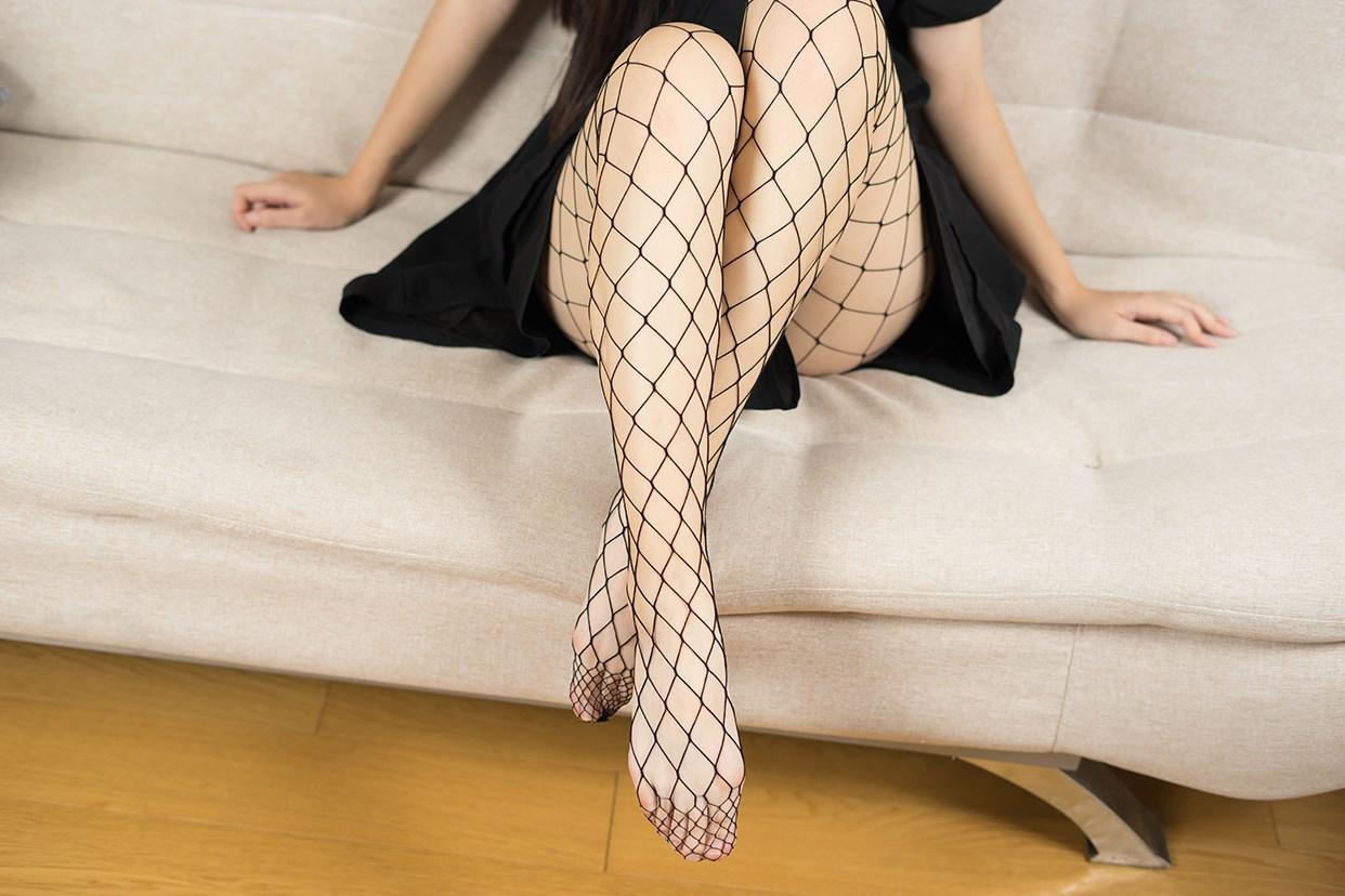 【兔玩映画】黑色网袜 兔玩映画 第26张