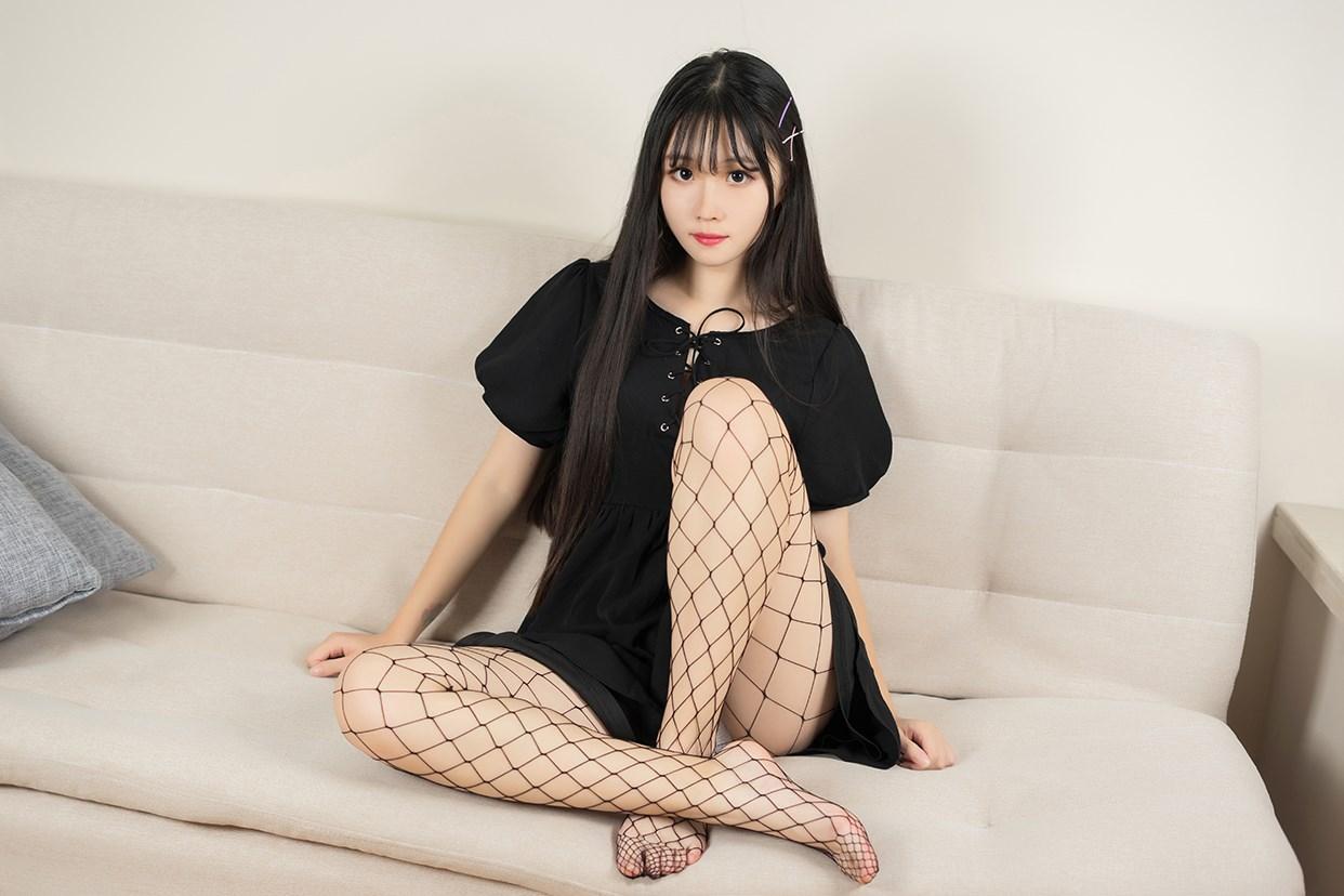 【兔玩映画】黑色网袜 兔玩映画 第27张