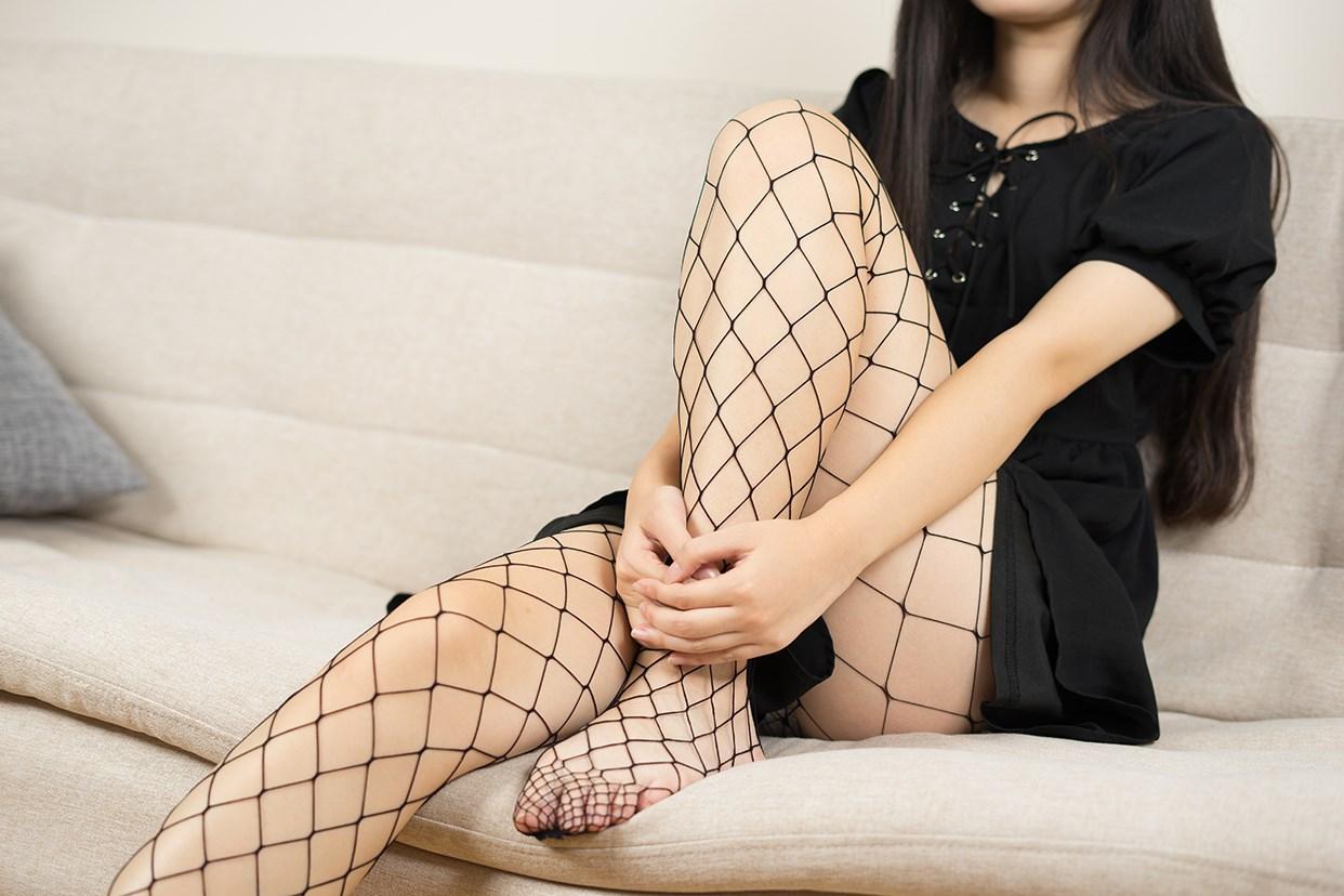 【兔玩映画】黑色网袜 兔玩映画 第28张