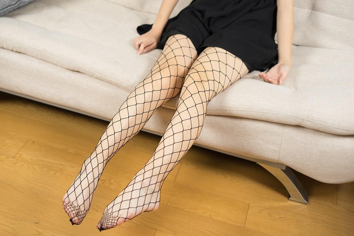 【兔玩映画】黑色网袜 兔玩映画 第29张