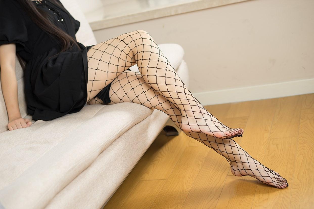 【兔玩映画】黑色网袜 兔玩映画 第30张