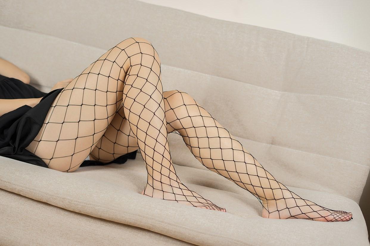 【兔玩映画】黑色网袜 兔玩映画 第31张