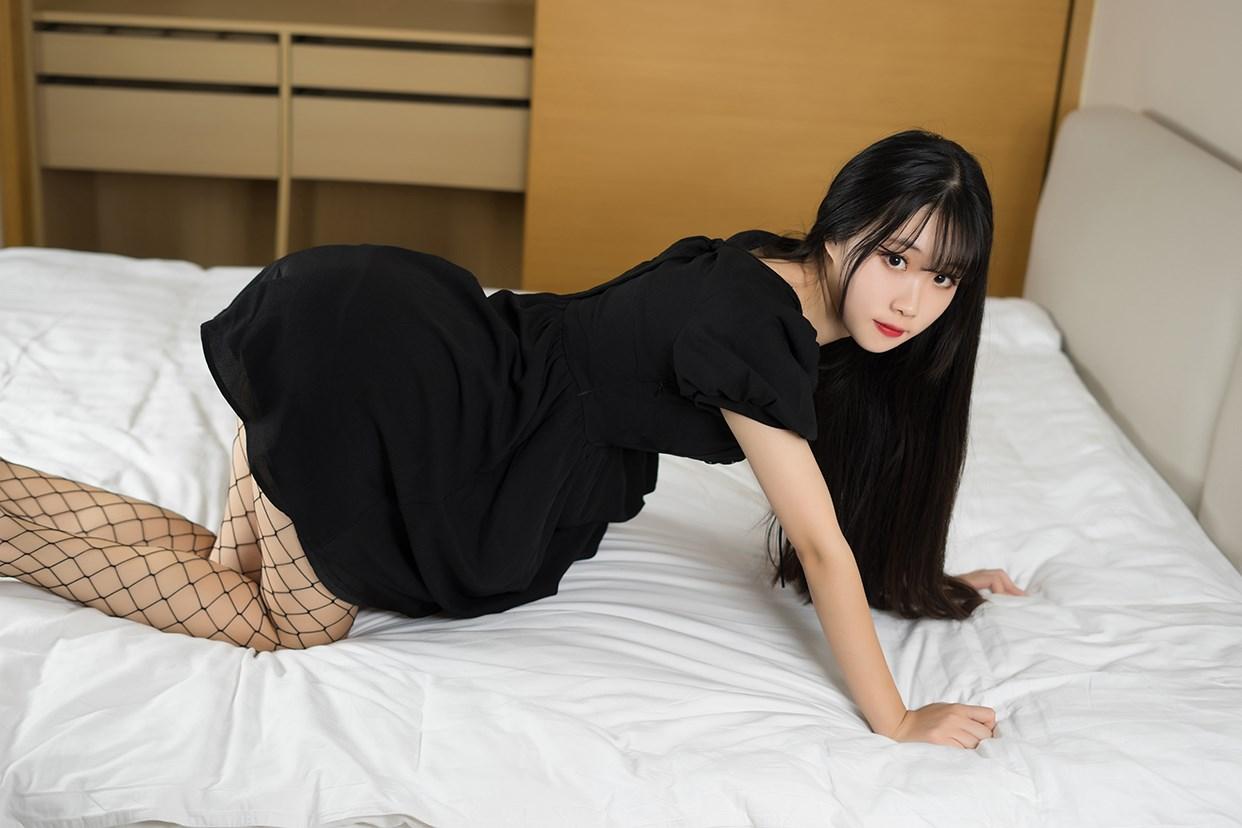 【兔玩映画】黑色网袜 兔玩映画 第35张