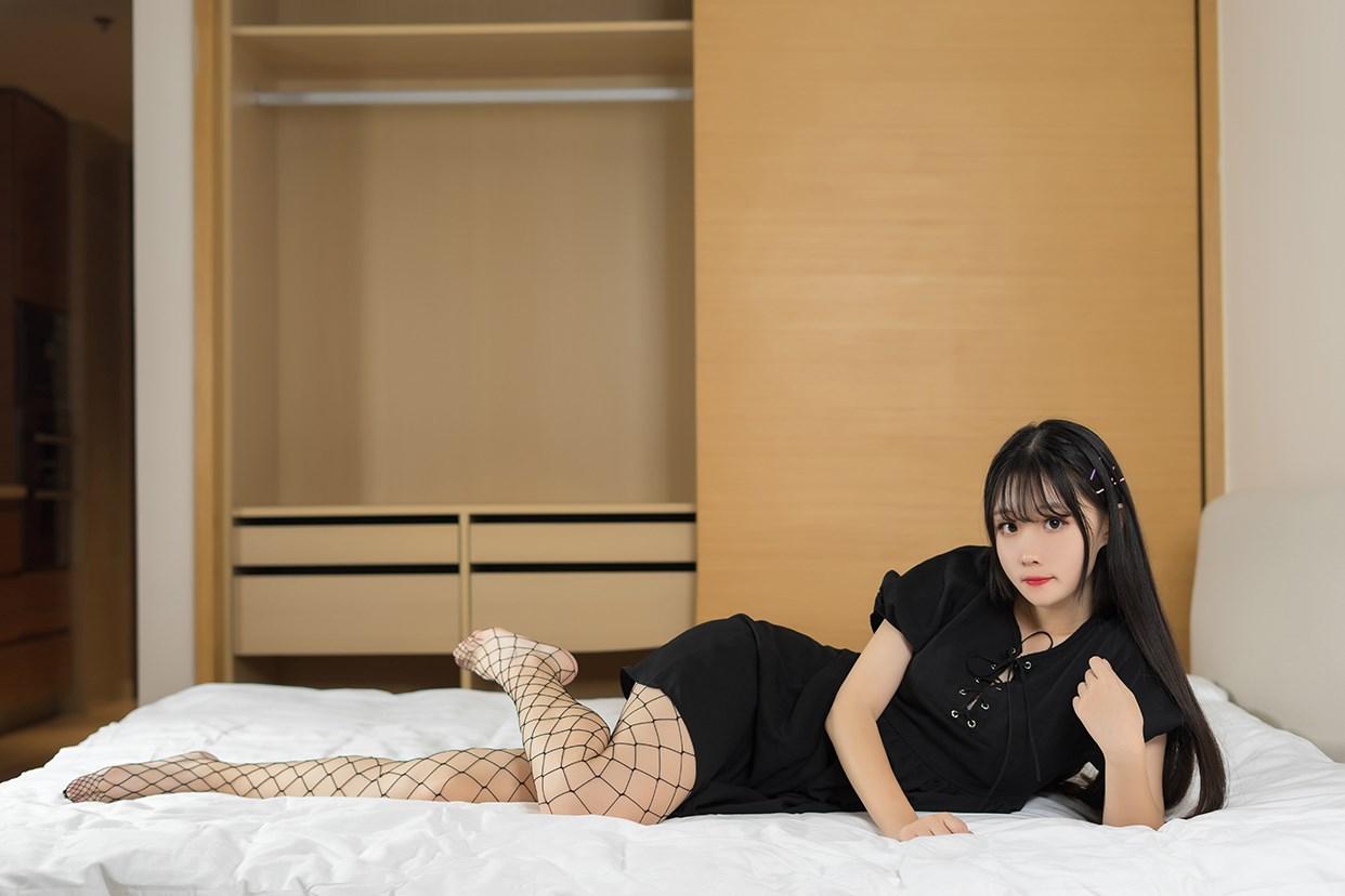 【兔玩映画】黑色网袜 兔玩映画 第36张