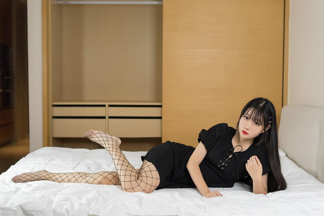 【兔玩映画】黑色网袜 兔玩映画 第37张