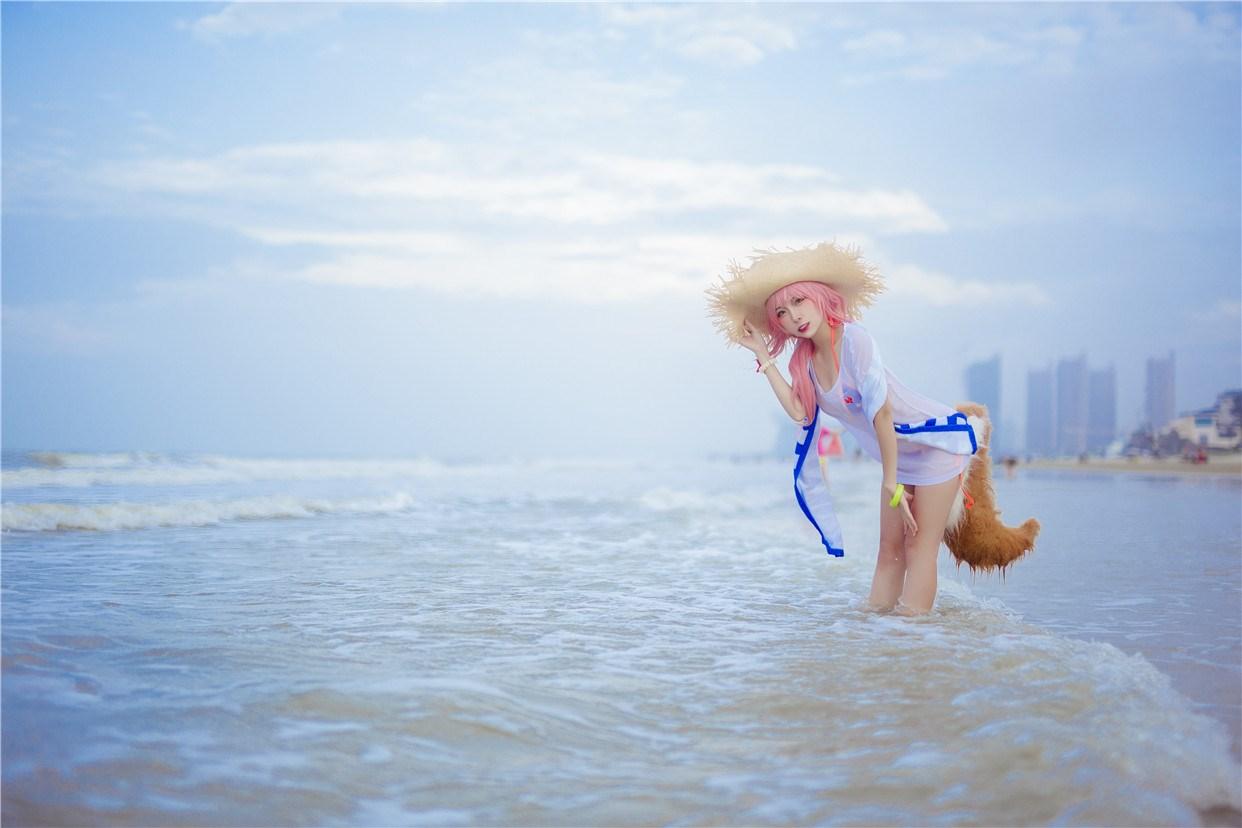 【兔玩映画】和玉藻前一起去海边啦! 兔玩映画 第7张