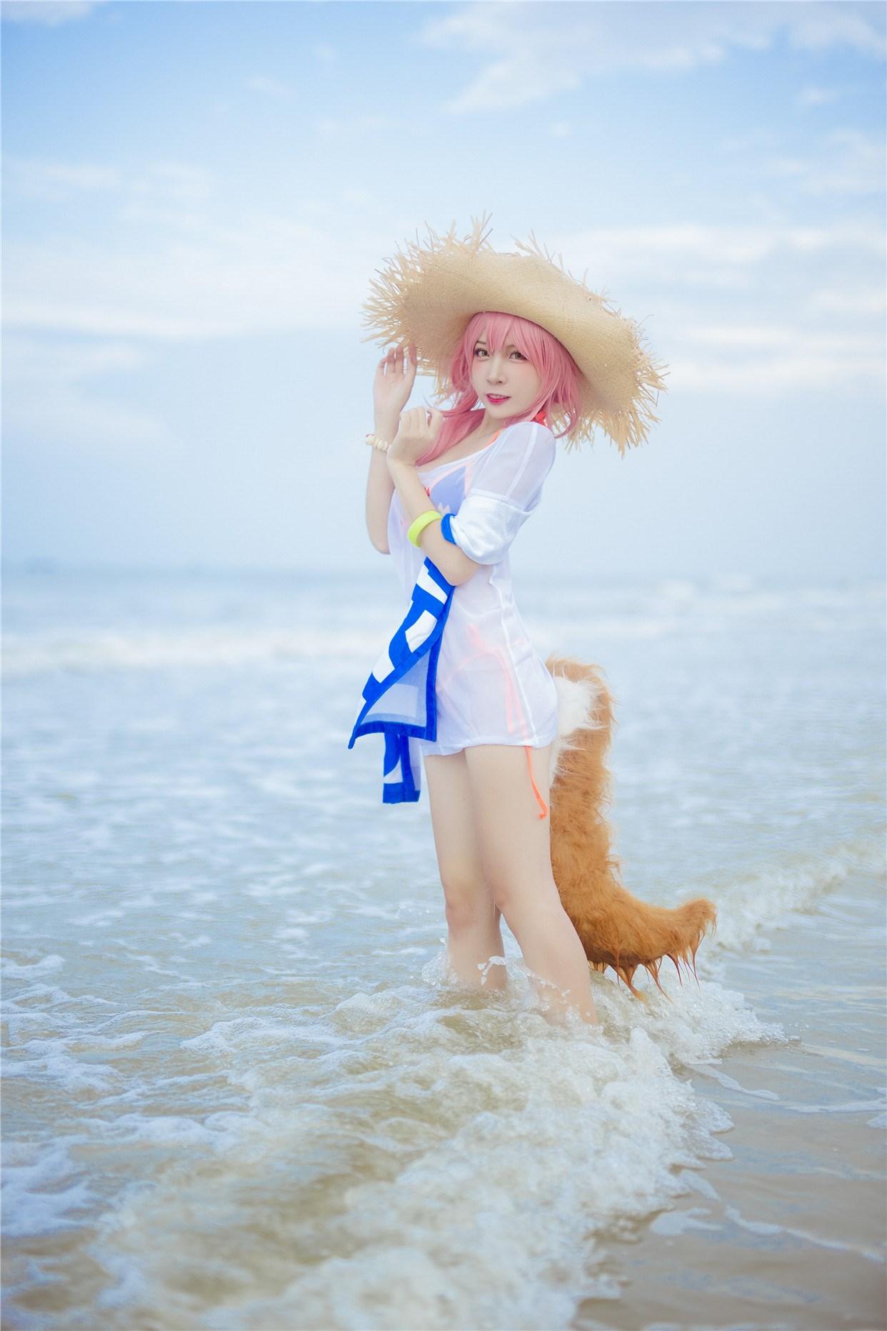 【兔玩映画】和玉藻前一起去海边啦! 兔玩映画 第9张