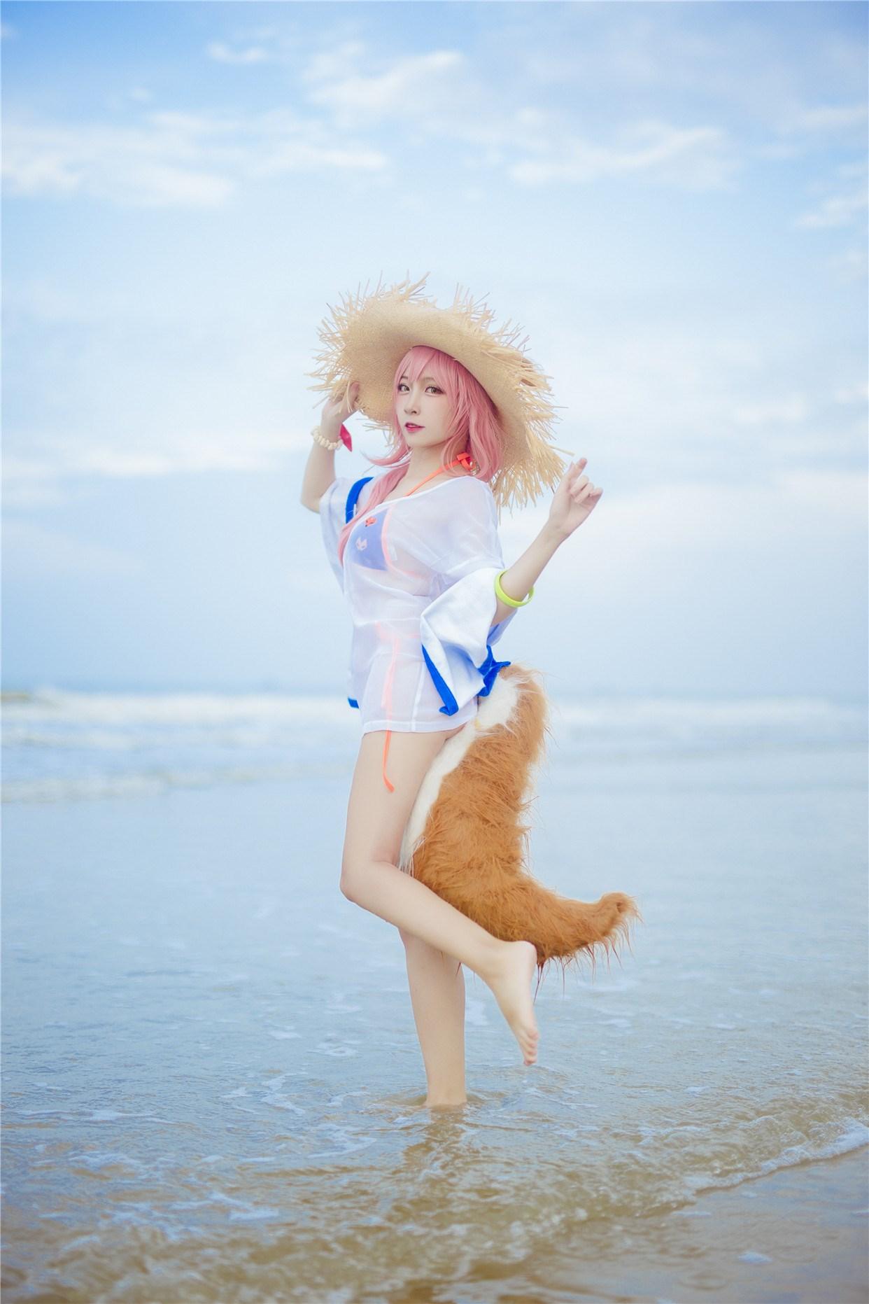 【兔玩映画】和玉藻前一起去海边啦! 兔玩映画 第24张