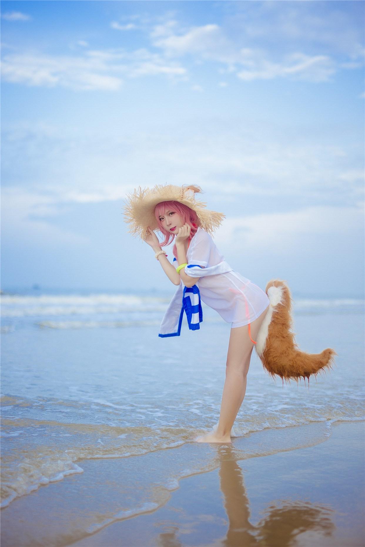 【兔玩映画】和玉藻前一起去海边啦! 兔玩映画 第25张