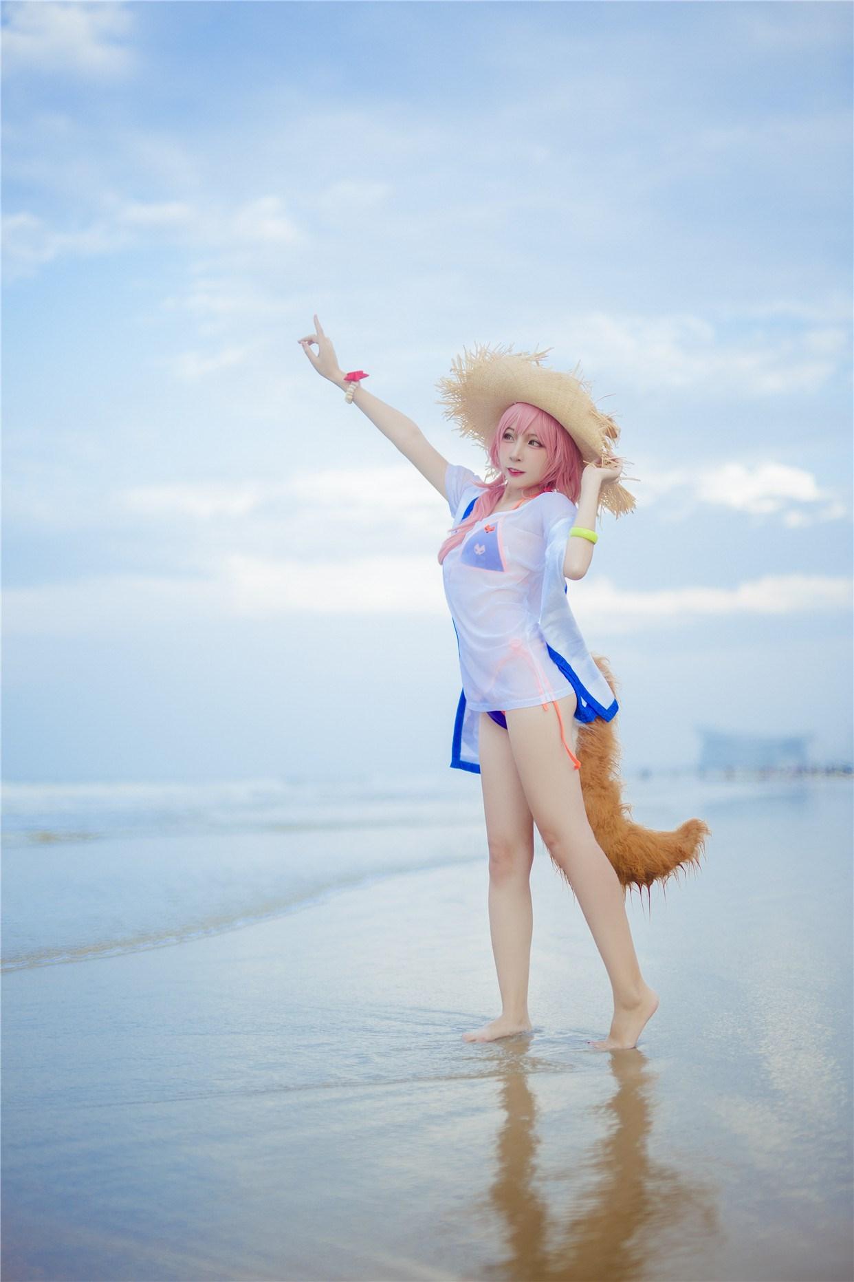 【兔玩映画】和玉藻前一起去海边啦! 兔玩映画 第26张