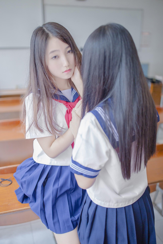 【兔玩映画】vol.02-放学后的教室 兔玩映画 第8张