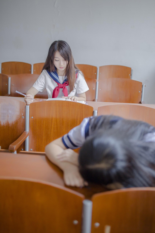 【兔玩映画】vol.02-放学后的教室 兔玩映画 第10张