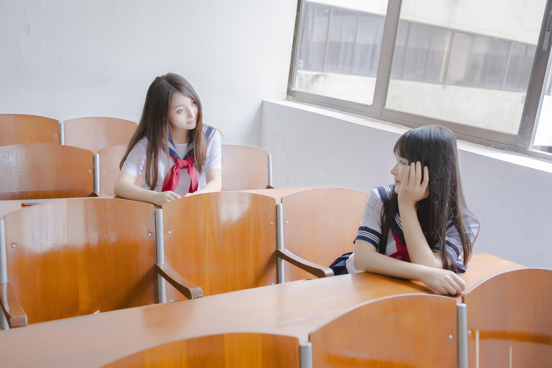 【兔玩映画】vol.02-放学后的教室 兔玩映画 第12张