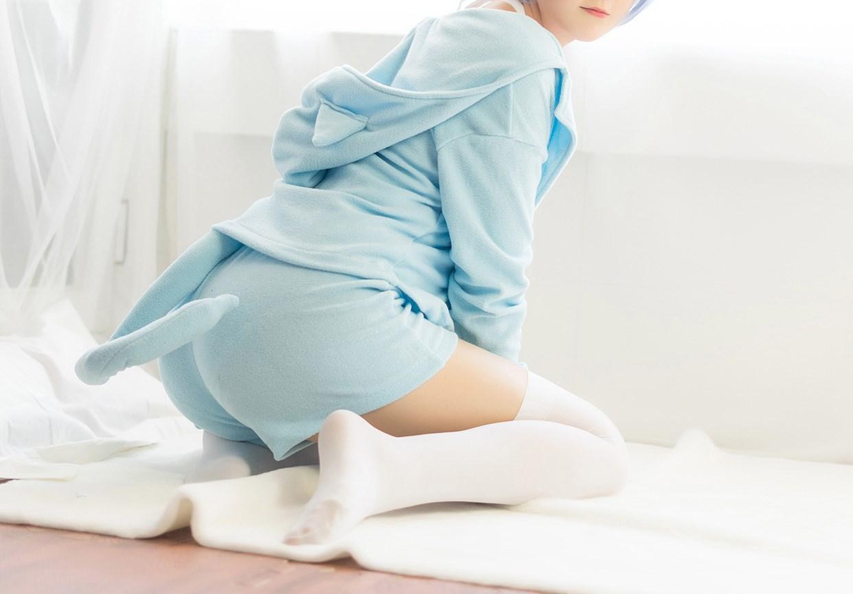 【兔玩映画】蕾姆的蓝色睡衣 兔玩映画 第8张