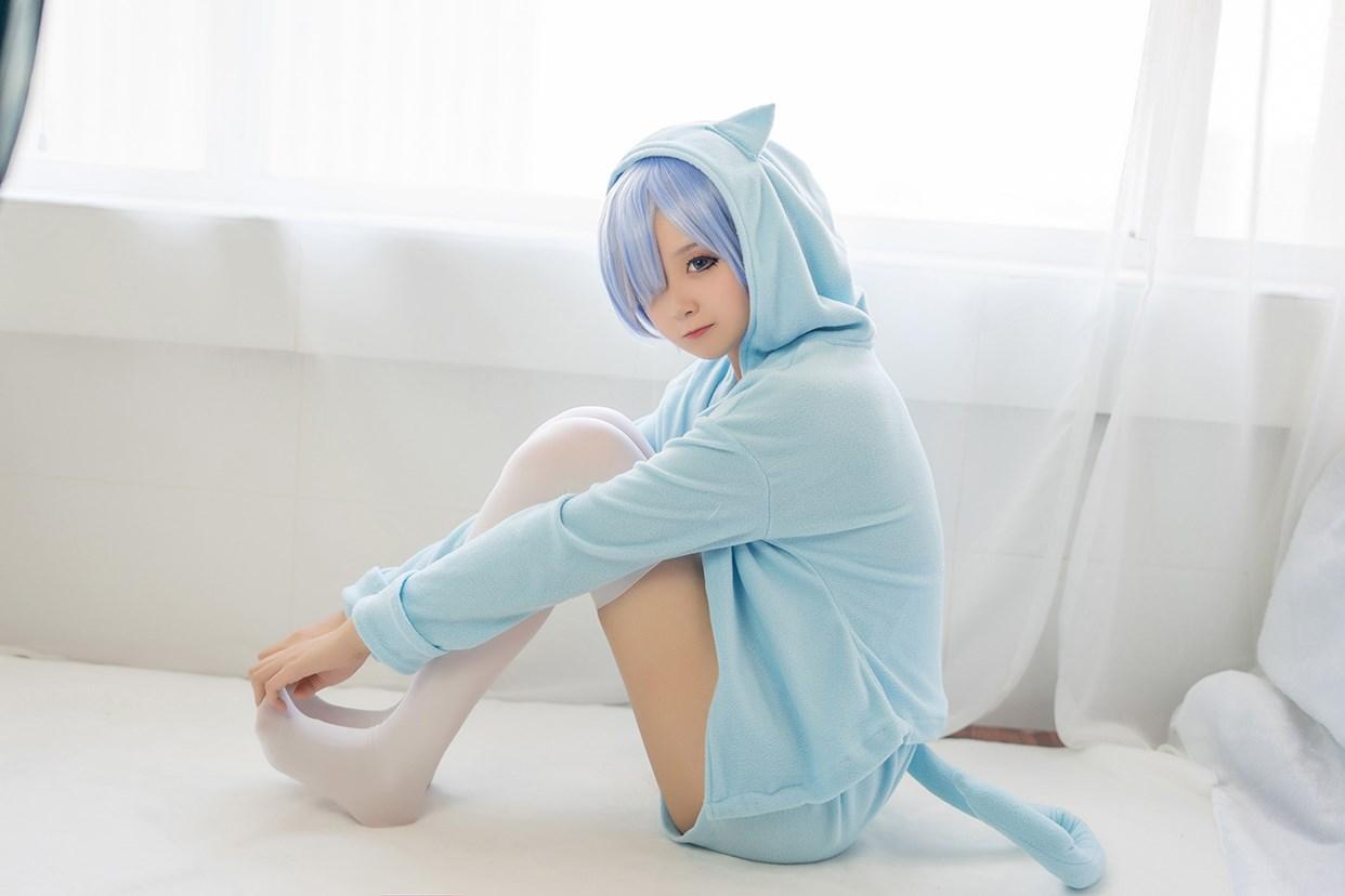 【兔玩映画】蕾姆的蓝色睡衣 兔玩映画 第20张