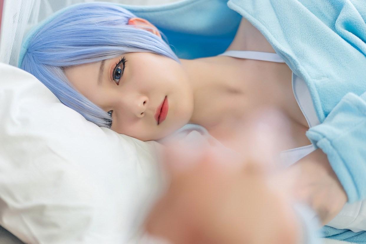 【兔玩映画】蕾姆的蓝色睡衣 兔玩映画 第30张