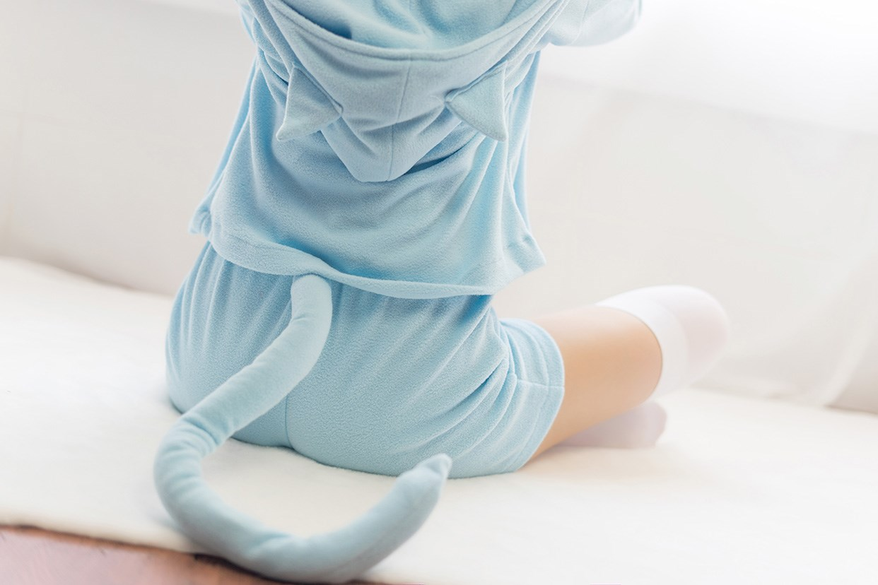 【兔玩映画】蕾姆的蓝色睡衣 兔玩映画 第32张
