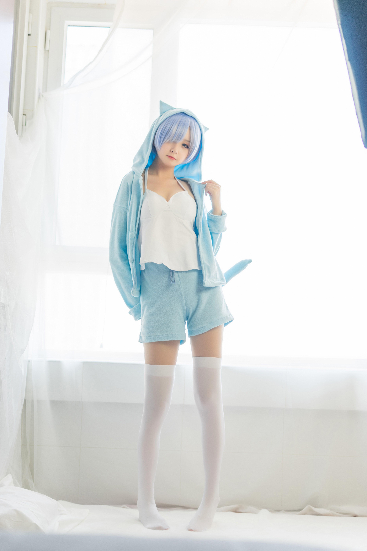 【兔玩映画】蕾姆的蓝色睡衣 兔玩映画 第13张
