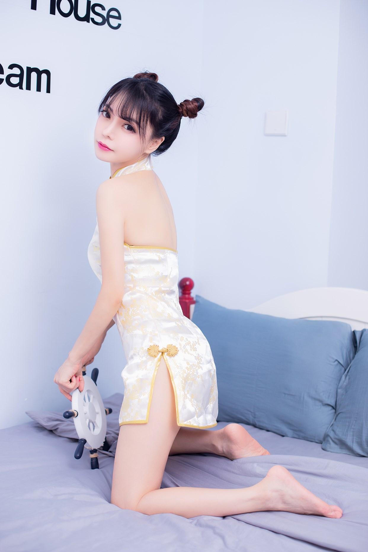 【兔玩映画】诱惑旗袍 兔玩映画 第1张