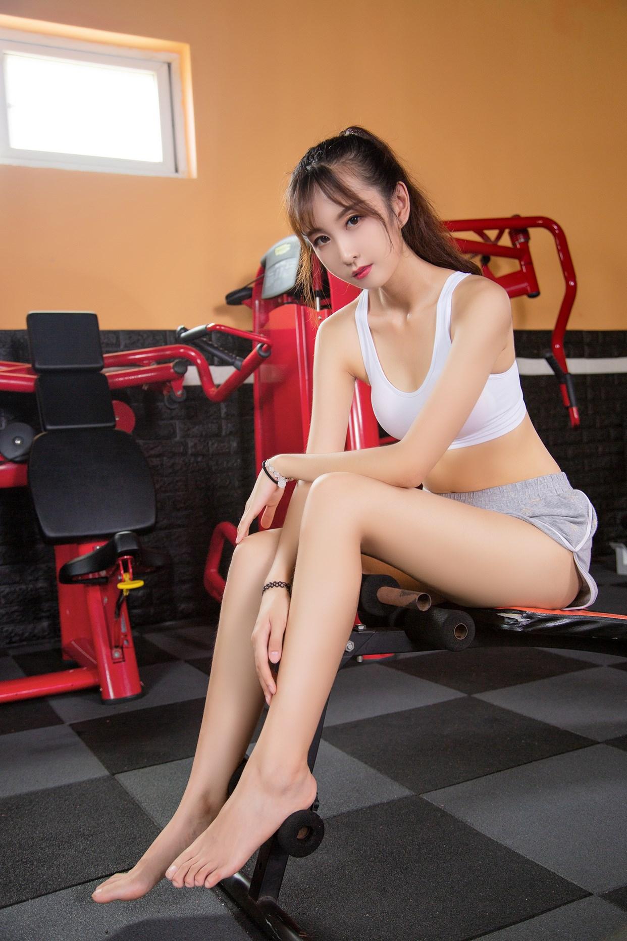 【兔玩映画】健身房的少女 兔玩映画 第1张