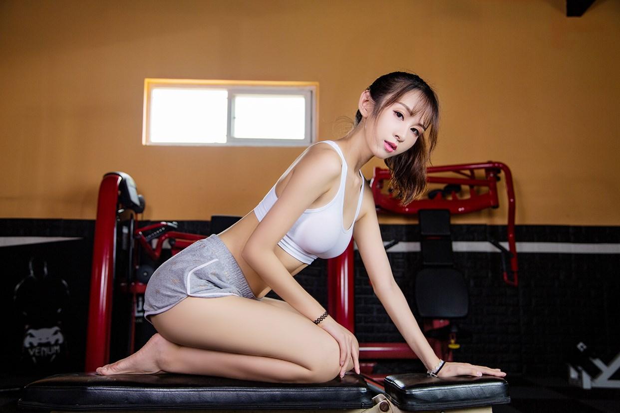 【兔玩映画】健身房的少女 兔玩映画 第11张