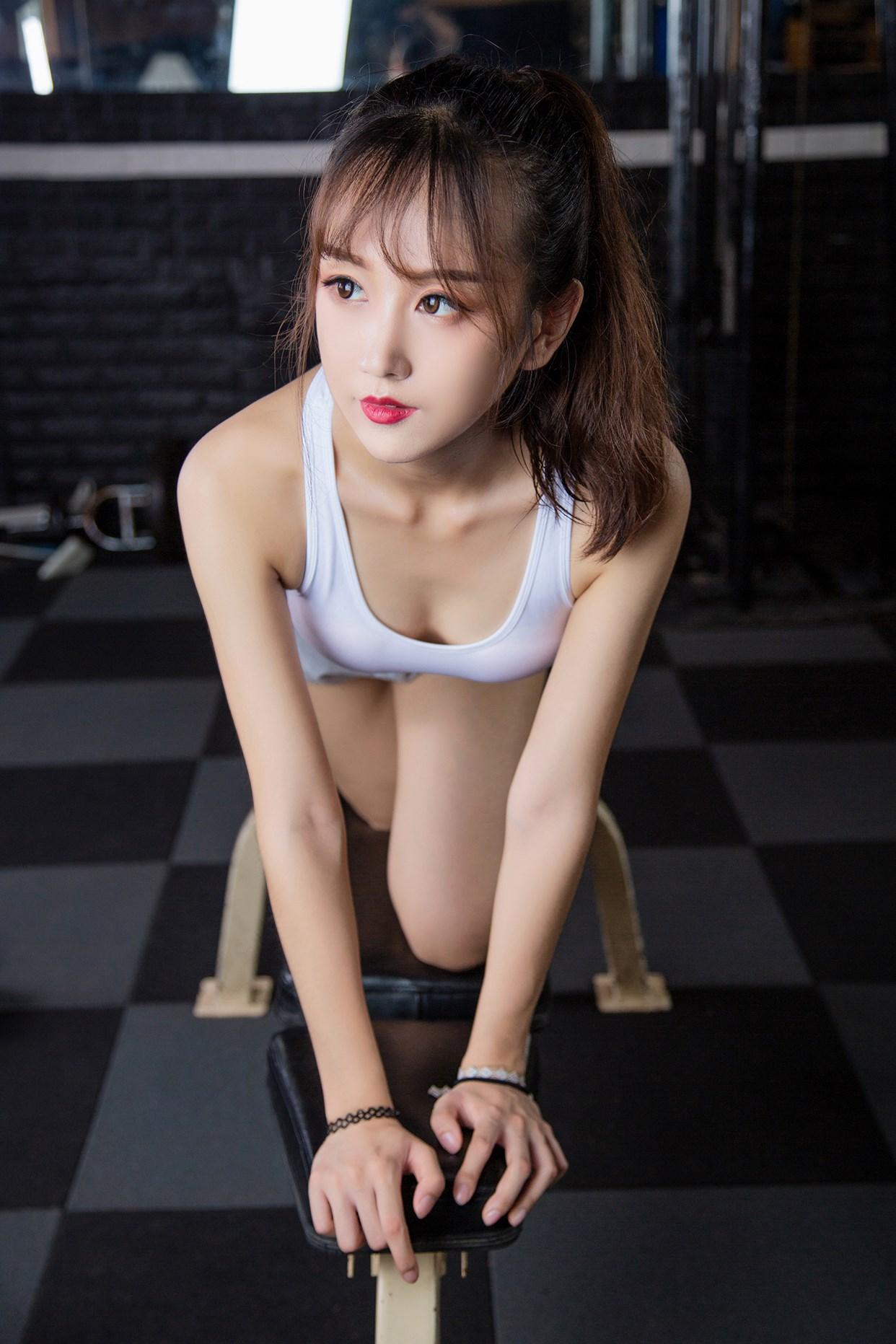 【兔玩映画】健身房的少女 兔玩映画 第12张