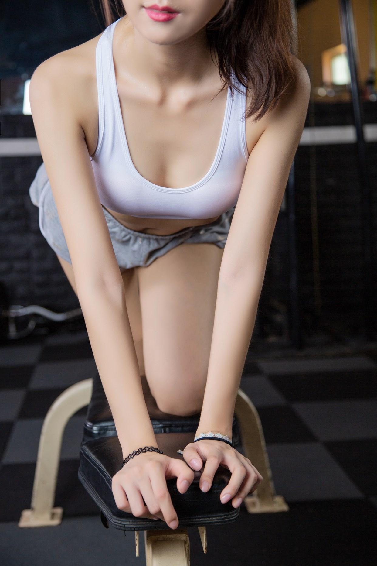 【兔玩映画】健身房的少女 兔玩映画 第13张
