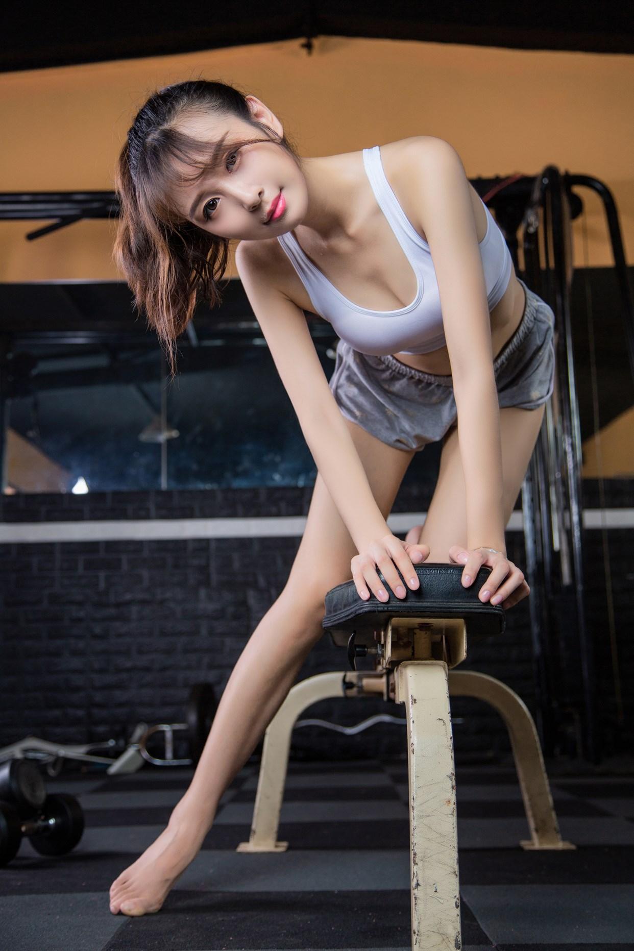 【兔玩映画】健身房的少女 兔玩映画 第14张