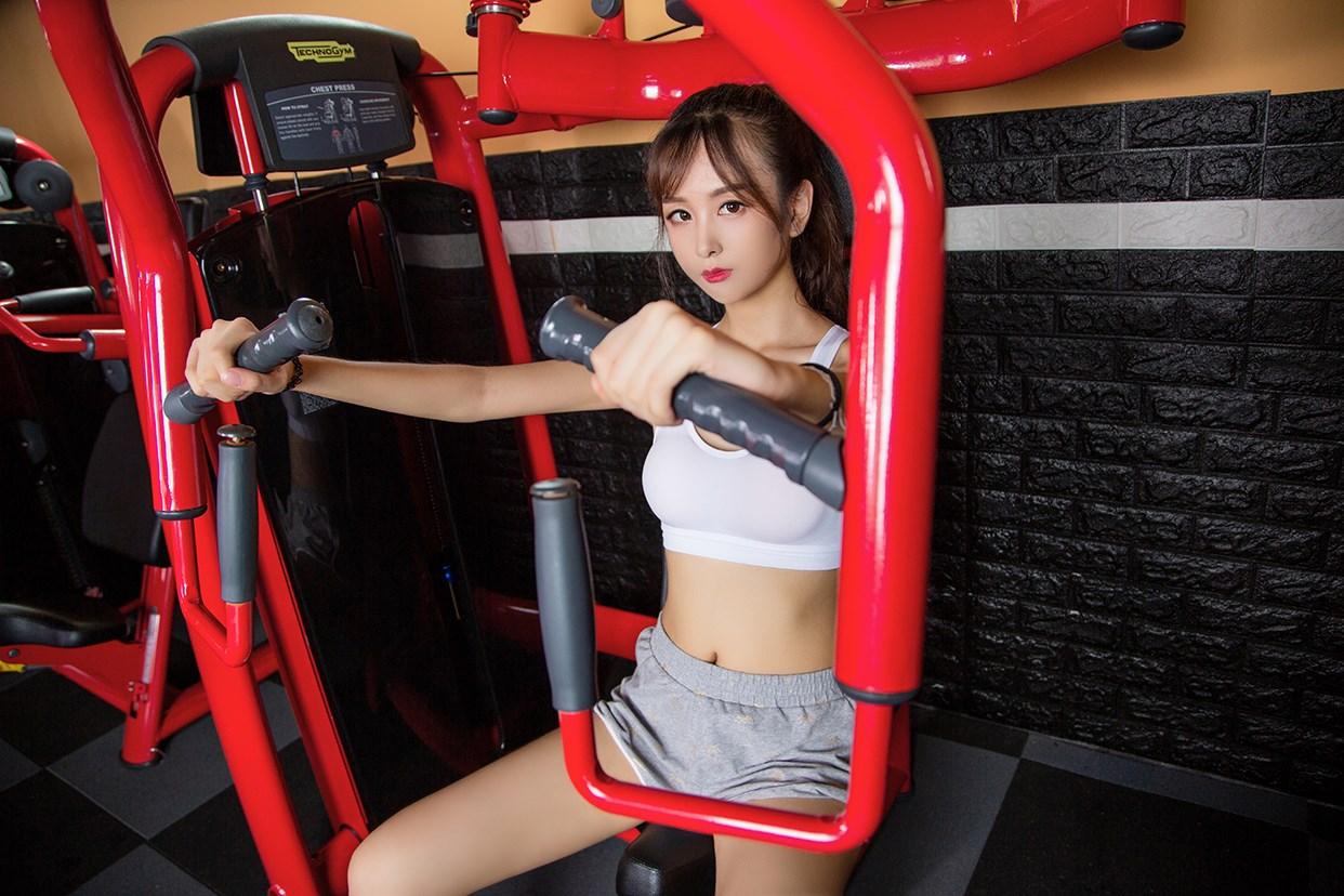 【兔玩映画】健身房的少女 兔玩映画 第21张