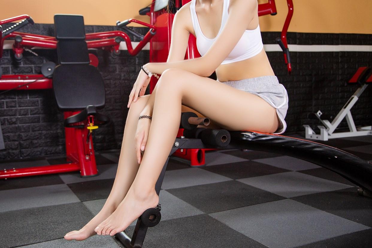 【兔玩映画】健身房的少女 兔玩映画 第24张