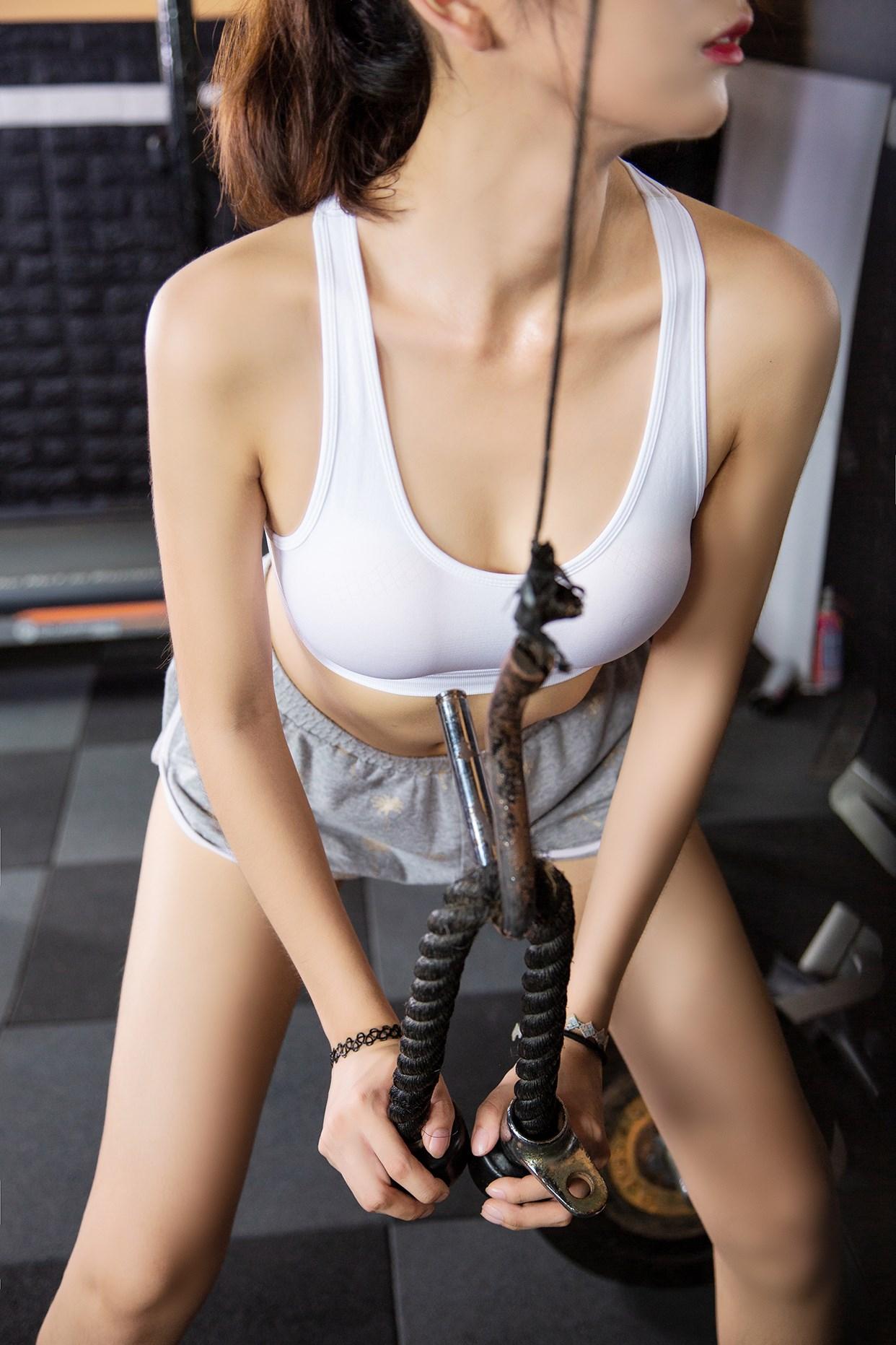 【兔玩映画】健身房的少女 兔玩映画 第27张