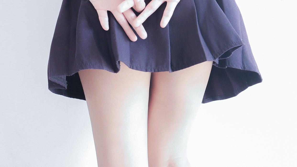 【兔玩映画】白白白半筒袜 兔玩映画 第16张
