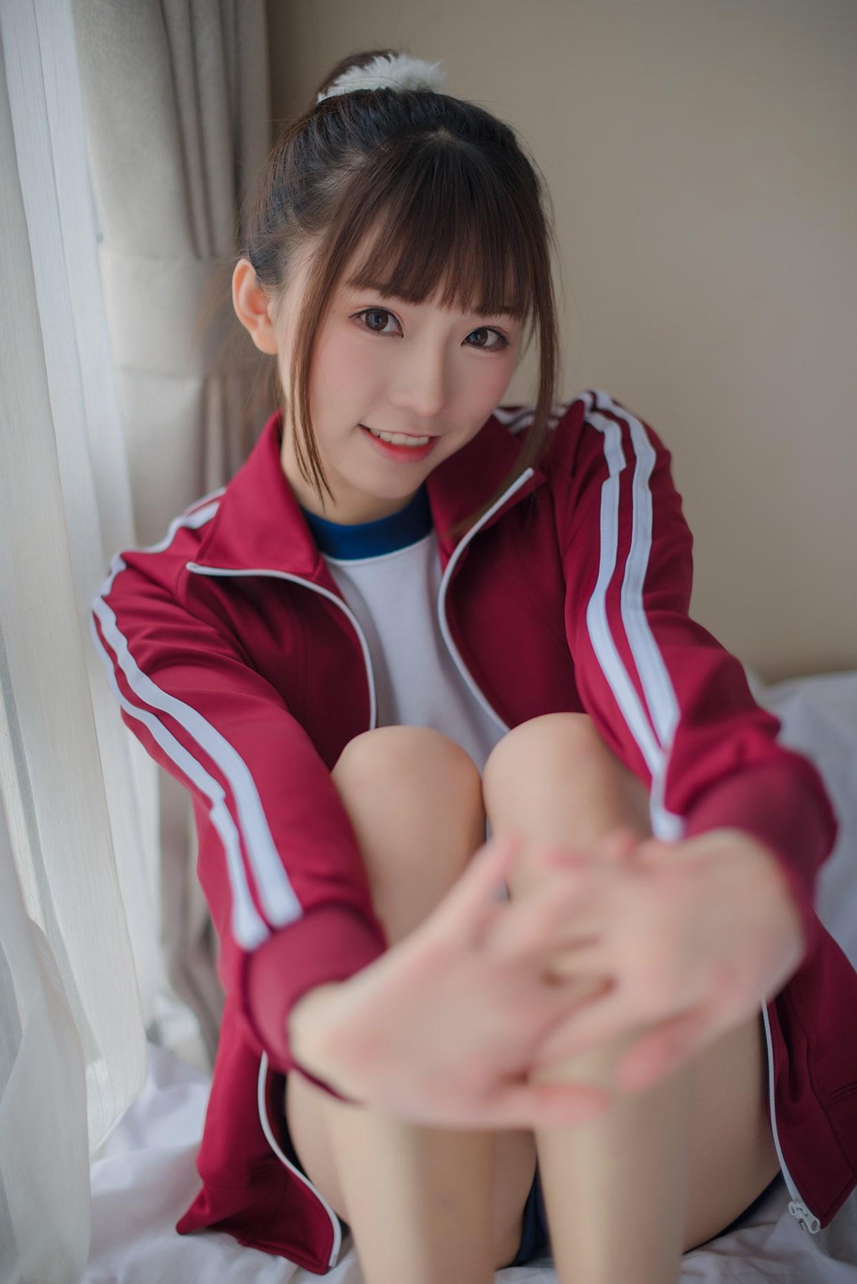 【兔玩映画】粉嫩体操服 兔玩映画 第6张