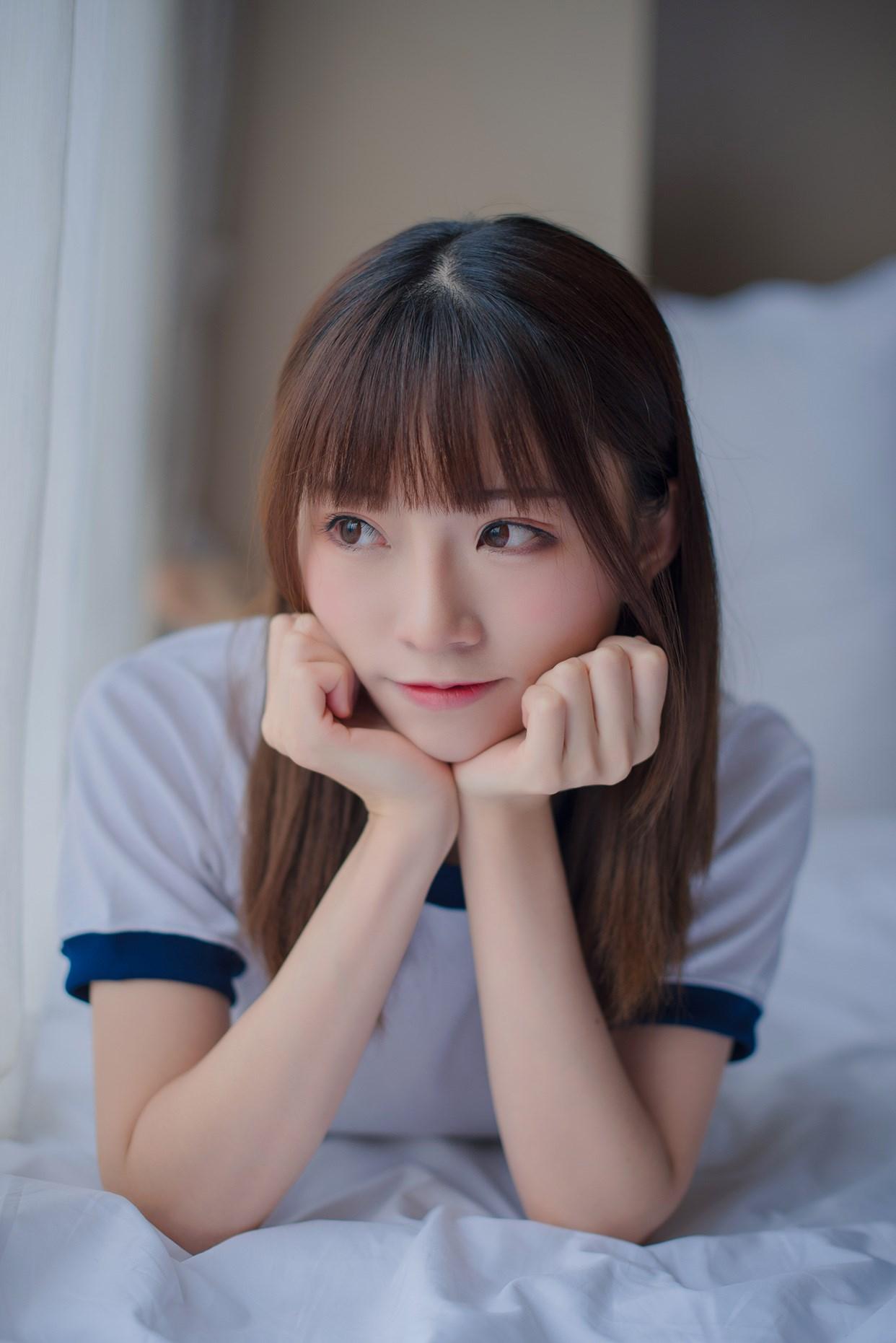 【兔玩映画】粉嫩体操服 兔玩映画 第19张