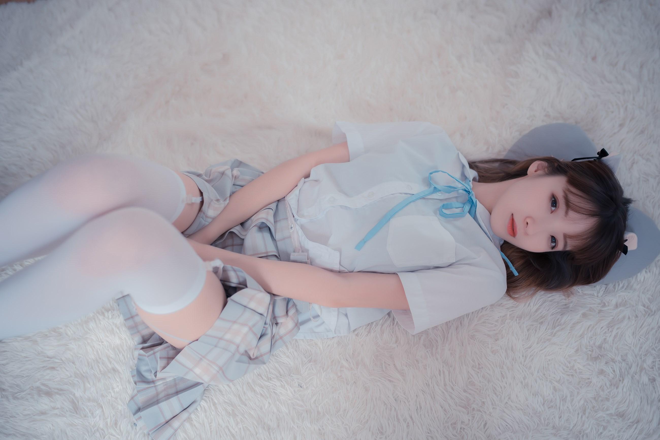 【兔玩映画】沙发上的JK少女 兔玩映画 第4张