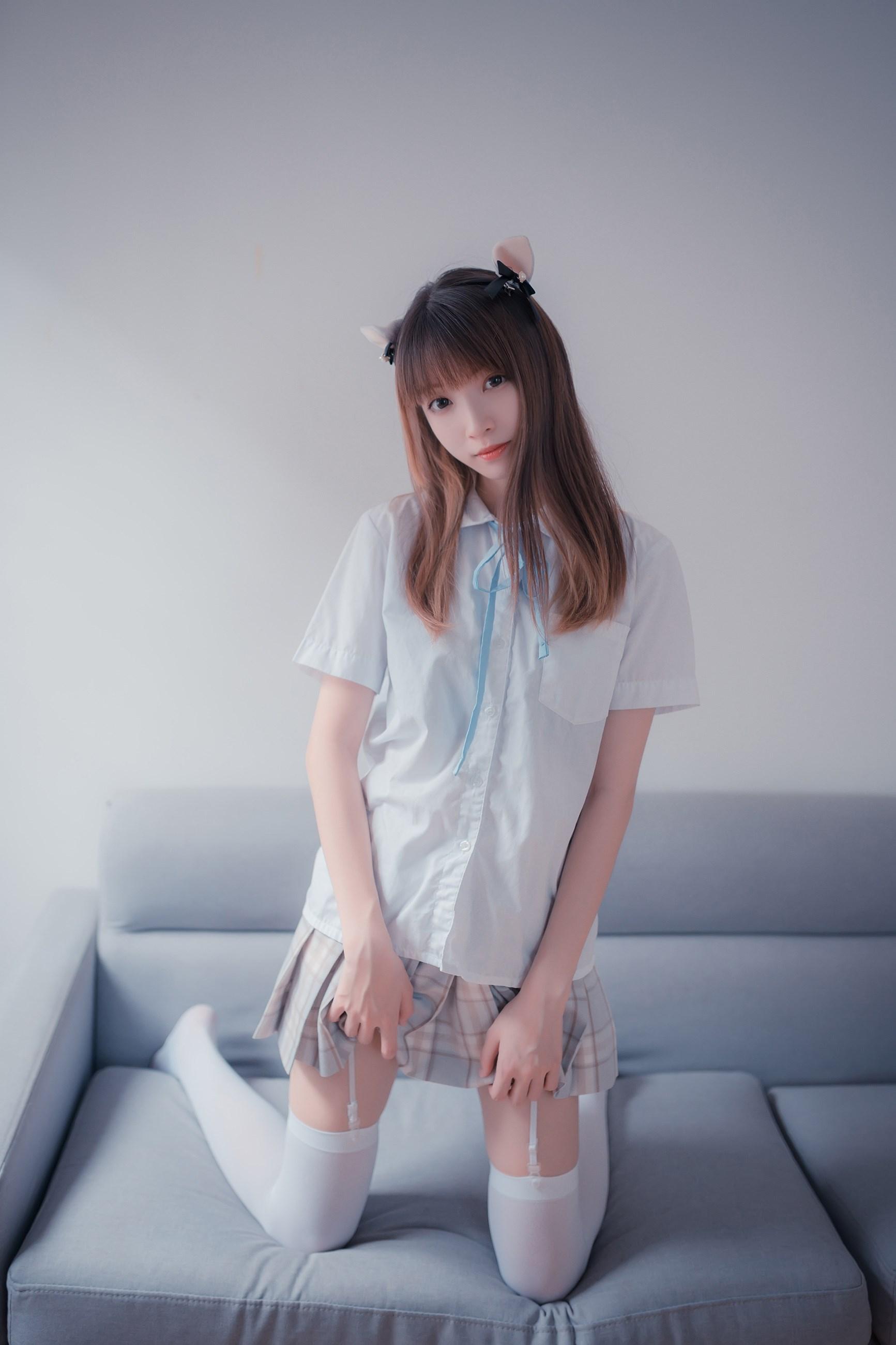 【兔玩映画】沙发上的JK少女 兔玩映画 第11张
