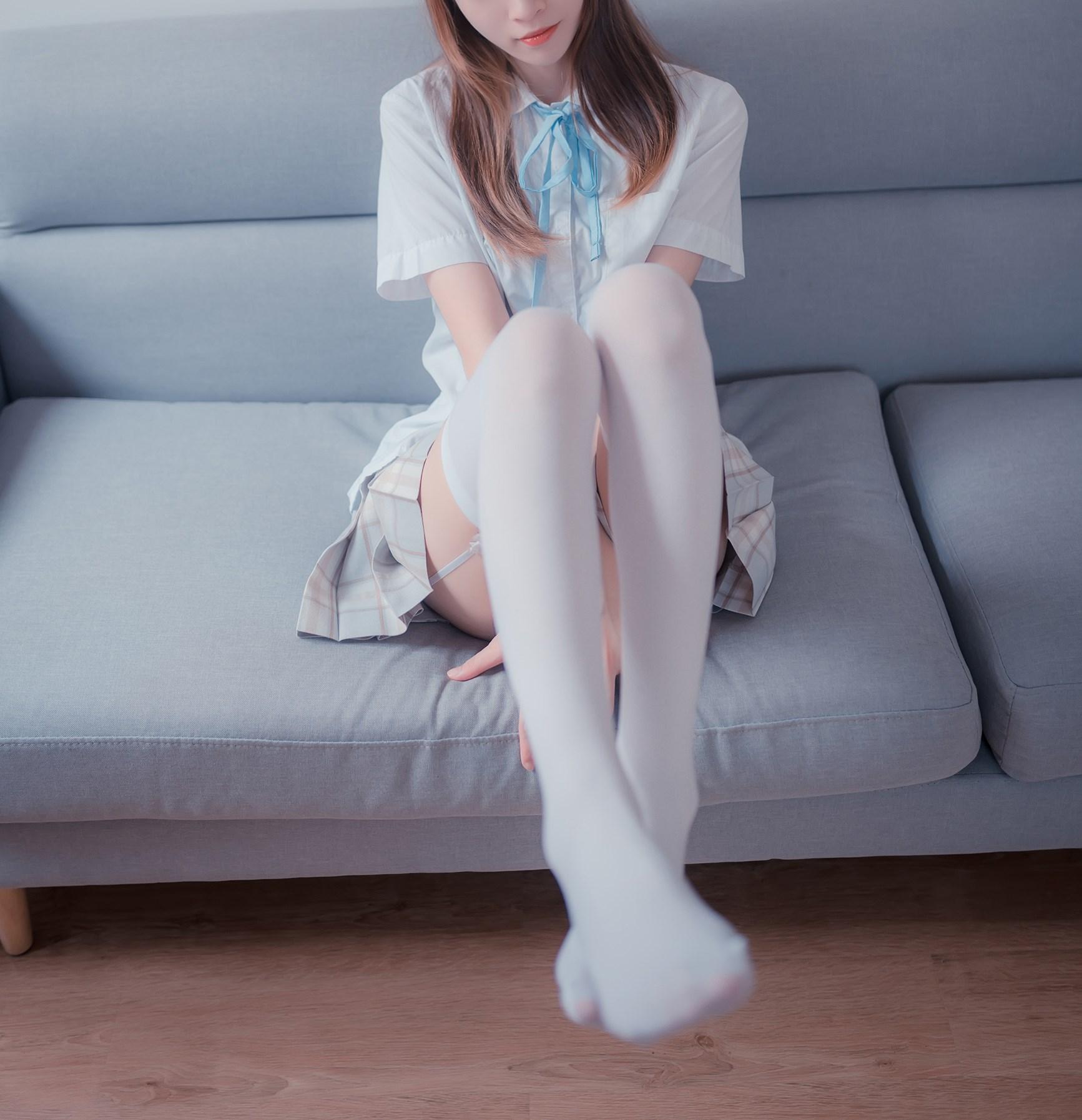 【兔玩映画】沙发上的JK少女 兔玩映画 第16张