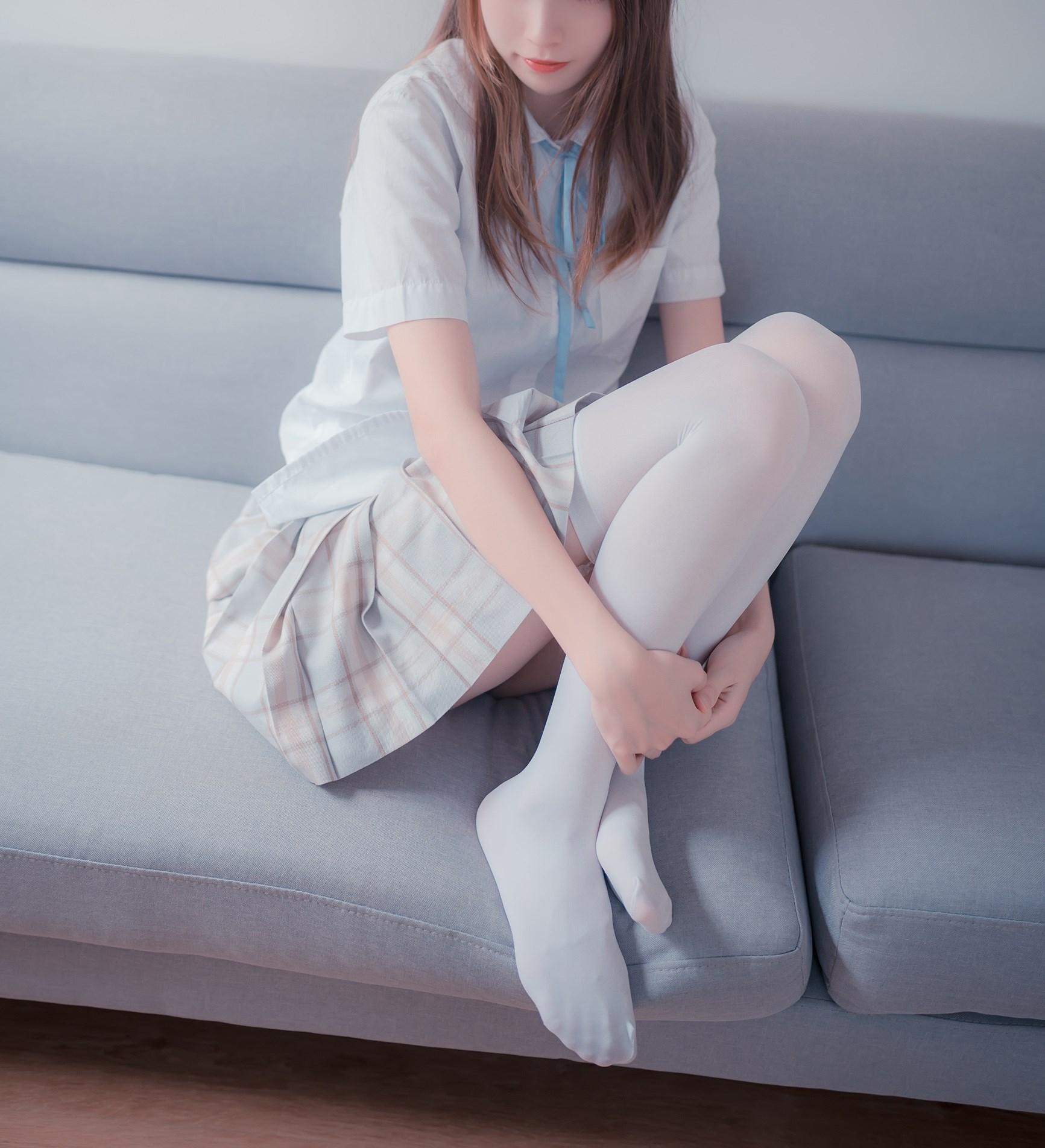 【兔玩映画】沙发上的JK少女 兔玩映画 第33张