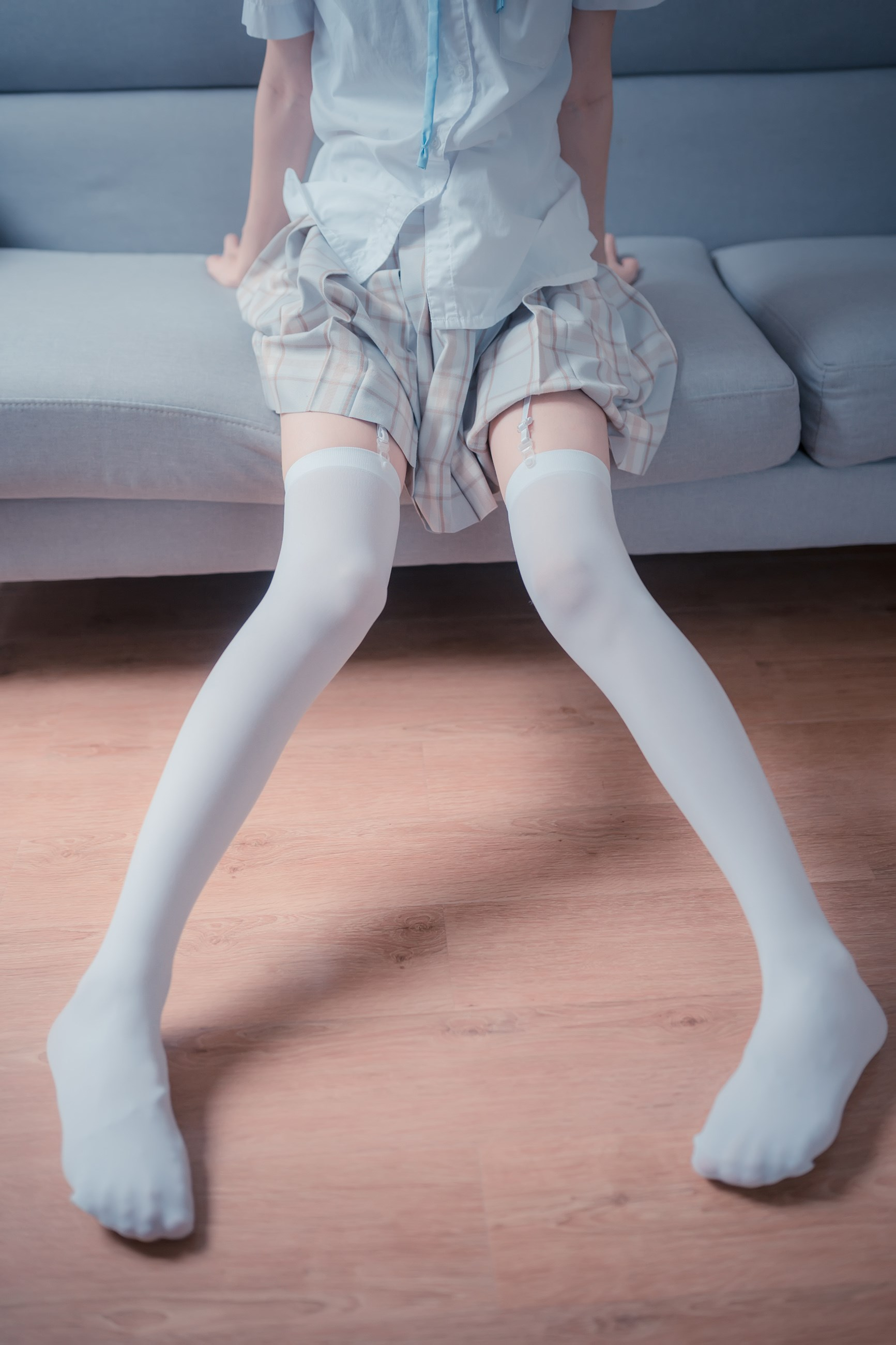 【兔玩映画】沙发上的JK少女 兔玩映画 第38张
