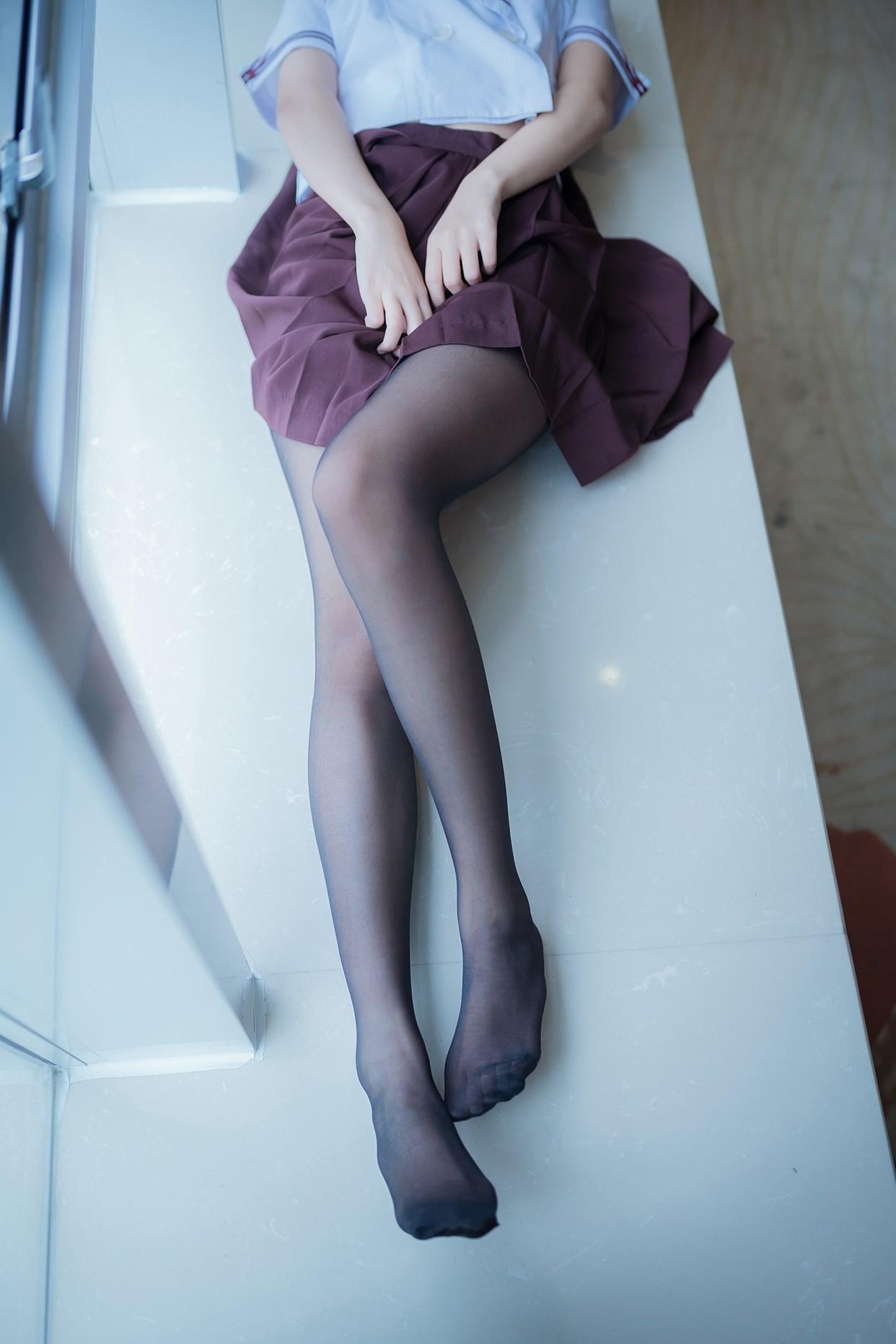 【兔玩映画】黑丝jk少女 兔玩映画 第3张