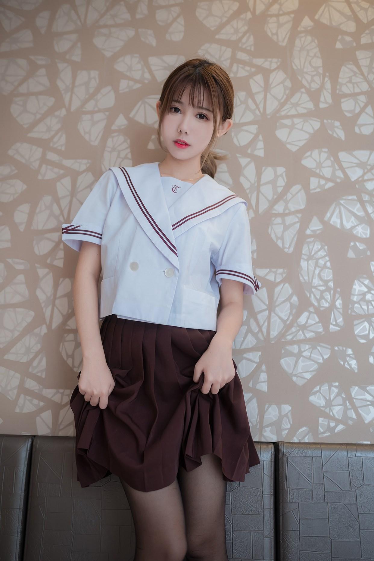 【兔玩映画】黑丝jk少女 兔玩映画 第14张