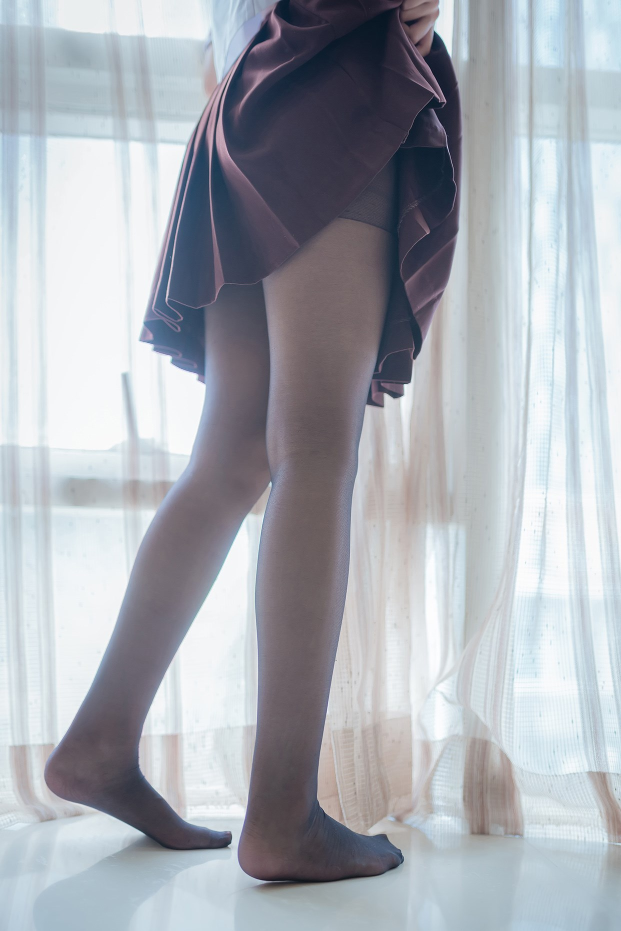 【兔玩映画】黑丝jk少女 兔玩映画 第29张