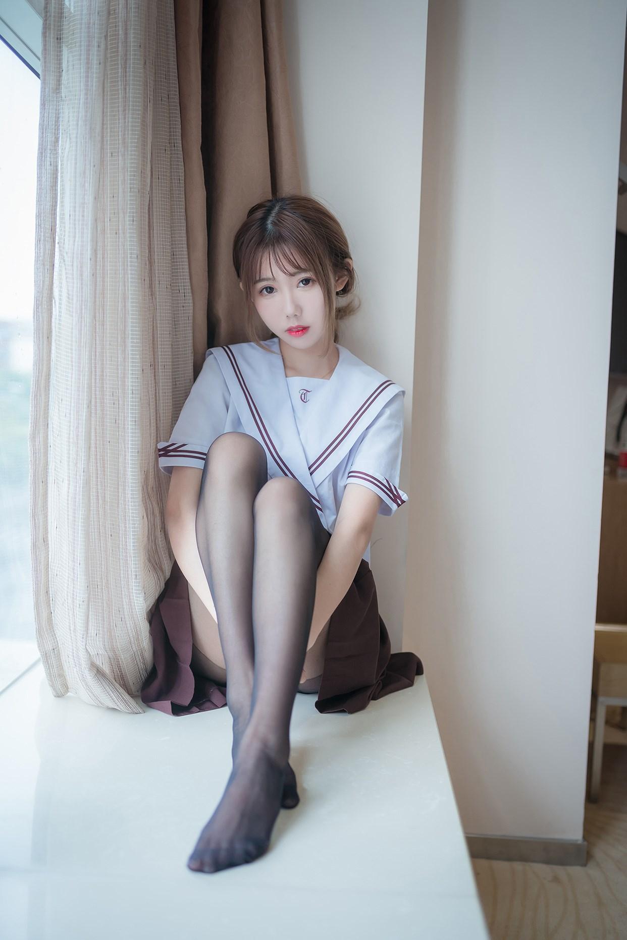 【兔玩映画】黑丝jk少女 兔玩映画 第31张