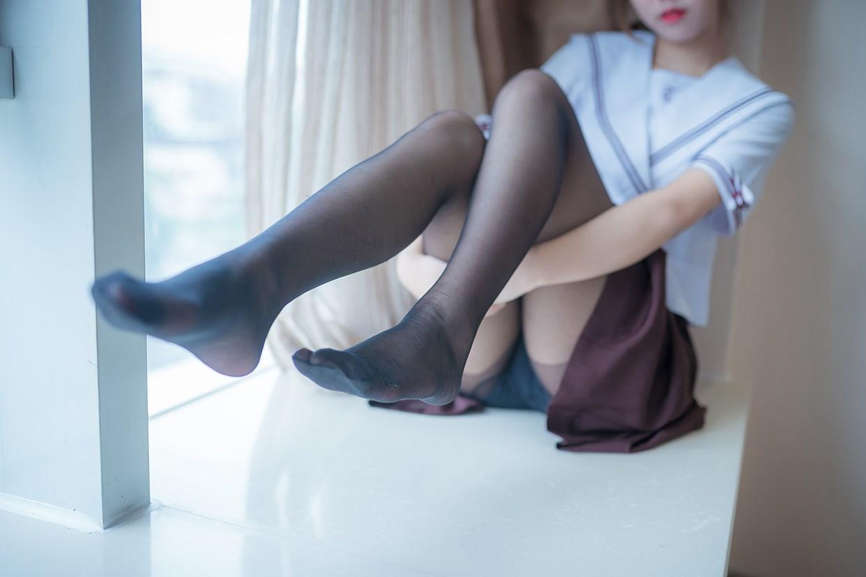 【兔玩映画】黑丝jk少女 兔玩映画 第33张