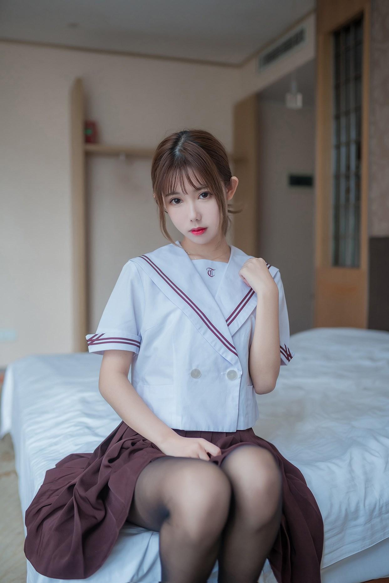 【兔玩映画】黑丝jk少女 兔玩映画 第43张