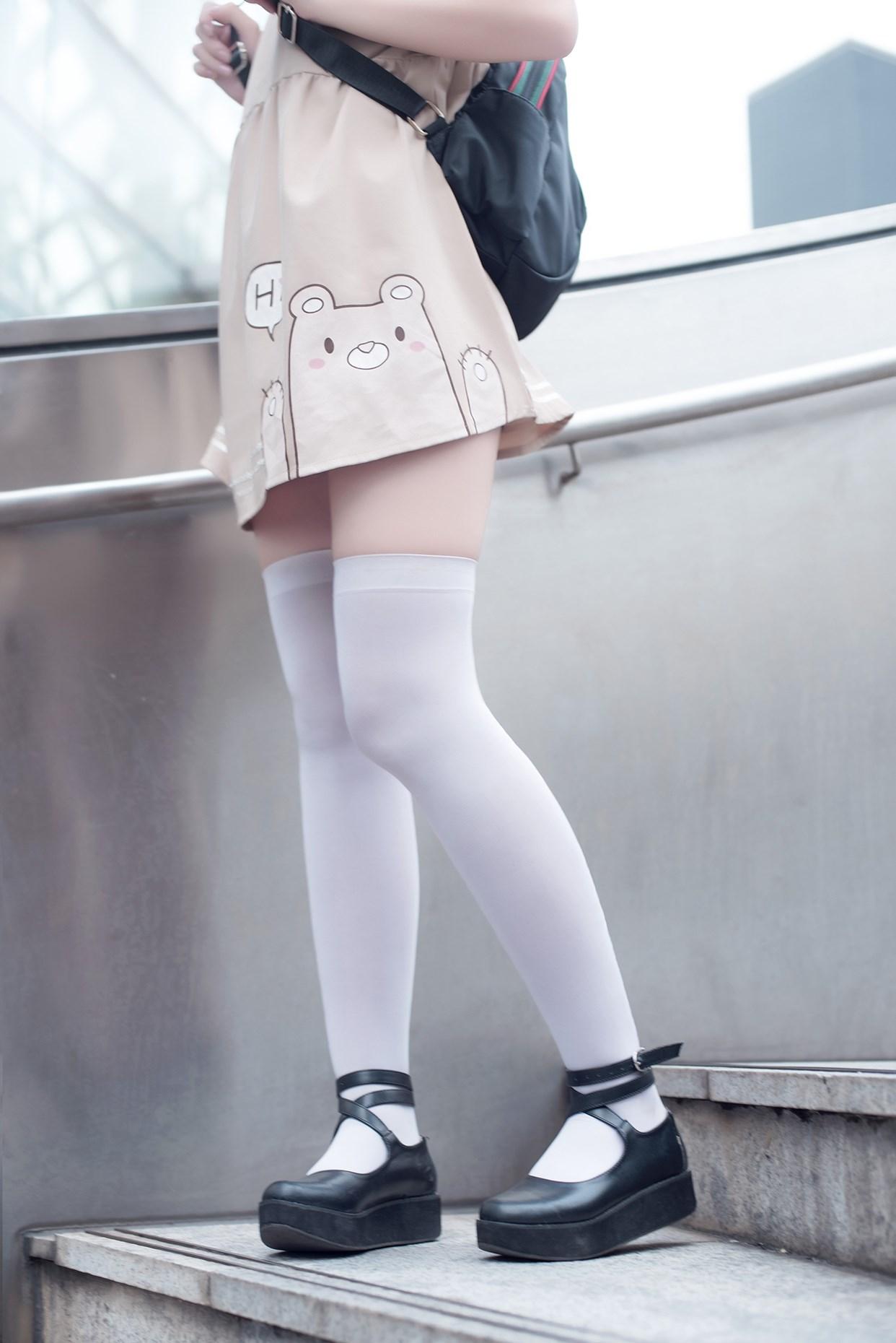 【兔玩映画】小熊白丝 兔玩映画 第34张